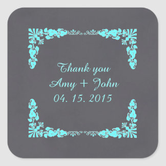 Chalkboard damask favor tags save the date deco3