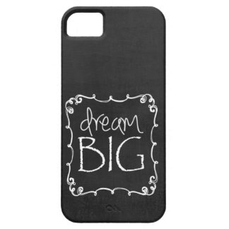 Chalkboard Design DREAM BIG Custom iPhone 5 S Case iPhone 5 Cover