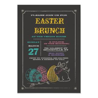 Chalkboard Easter Invitation