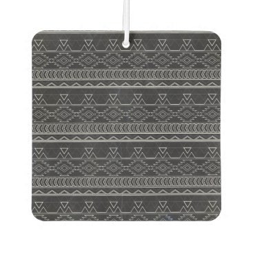 Aztec Themed Chalkboard Effect Aztec Tribal Stripes Air Freshener