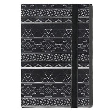 Aztec Themed Chalkboard Effect Aztec Tribal Stripes iPad Mini Case