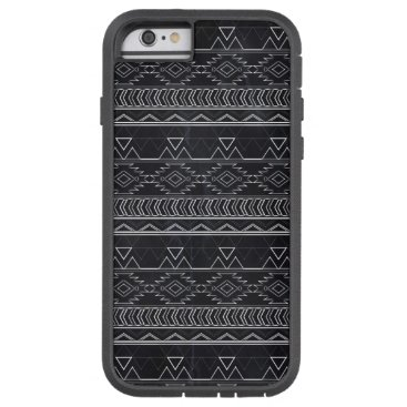 Aztec Themed Chalkboard Effect Aztec Tribal Stripes Tough Xtreme iPhone 6 Case