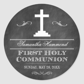 Chalkboard First Holy Communion