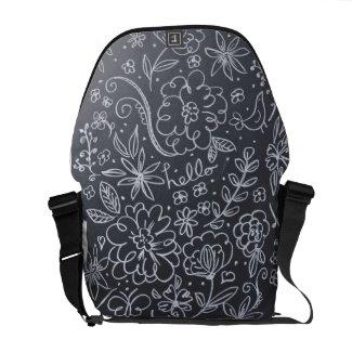 Chalkboard Floral back pack