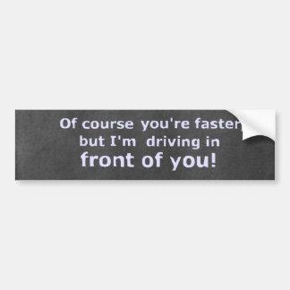 chalkboard funny bumper sticker