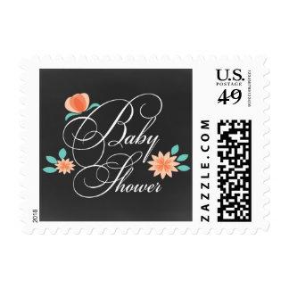 chalkboard gender neutral  Baby shower stamps