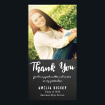 """Chalkboard Graduate Thank You Typography Card<br><div class=""""desc"""">Chalkboard Graduate Thank You Typography</div>"""