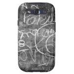 Chalkboard Graffiti 001 Samsung Galaxy SIII Covers