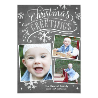 Chalkboard Greetings Collection Card