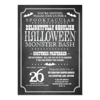 Chalkboard Halloween Costume Party