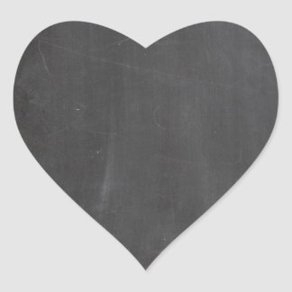 Chalkboard Heart Sticker