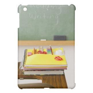 Chalkboard in classroom iPad mini cover