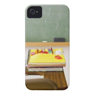 Chalkboard in classroom iPhone 4 case
