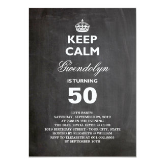 Funny 50th Birthday Invitations Announcements Zazzle