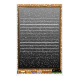 chalkboard lines stationery