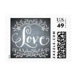 Chalkboard - Love Postage Stamps