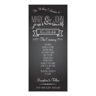 Chalkboard Love Rack Card Program