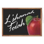 Chalkboard L'shanah Tovah Greeting Card
