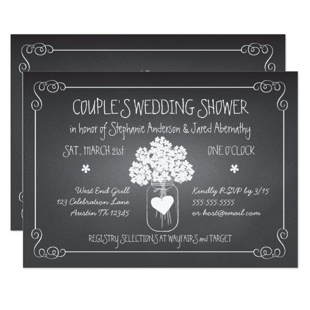 couples shower invitations & announcements | zazzle, Wedding invitations