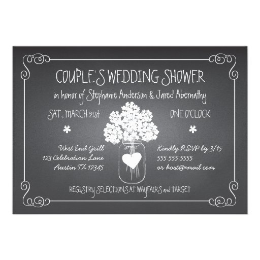 Couples shower invitations 1800 couples shower for Wedding couples shower invitations