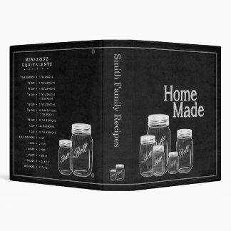 Chalkboard Mason Jars- Binder