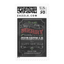 Chalkboard Merry Christmas Stamp
