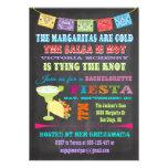 Chalkboard Mexican Fiesta Bachelorette party Invite