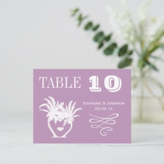 Chalkboard Modern Vintage Typography Table Number