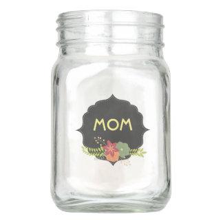 Chalkboard Mother's Day Mason Jar with Mom