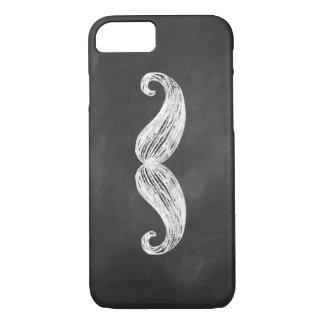 Chalkboard Mustache iPhone 7 Case
