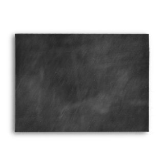Chalkboard Personalized Envelopes