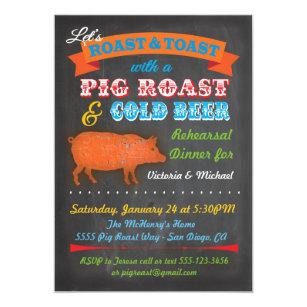 Roast And Toast Gifts Invitations Zazzle