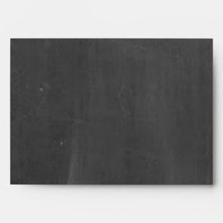 Chalkboard Posh Wedding Envelope