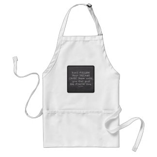 Chalkboard Quotes Adult Apron