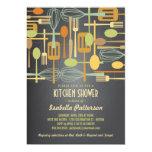 Chalkboard Retro Stock the Kitchen Bridal Shower Card