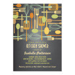 Chalkboard Retro Stock the Kitchen Bridal Shower Invitation