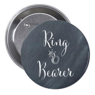 Chalkboard Ring Bearer Button