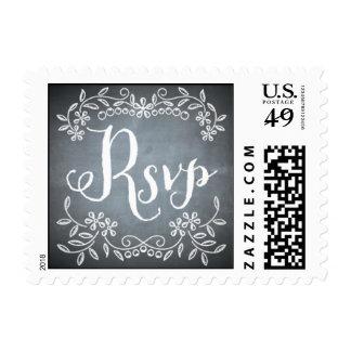Chalkboard - RSVP Postage Stamps