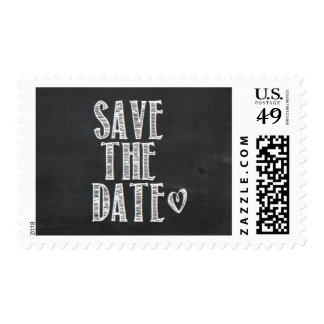 Chalkboard Save the Date Stamp 2
