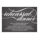 CHALKBOARD SCRIPT | REHEARSAL DINNER INVITE