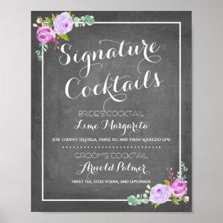 Chalkboard Signature Drink Menu | Wedding Decor