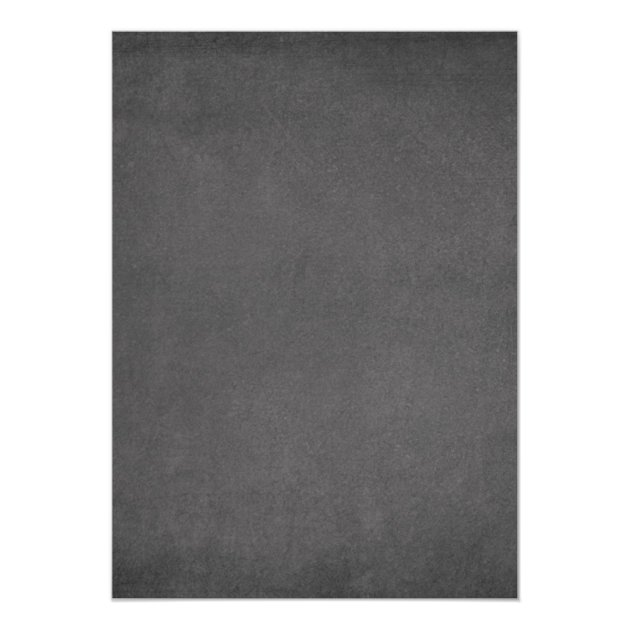 Chalkboard St. Patrick's Day Bash Dinner Party 5x7 Paper Invitation Card (back side)