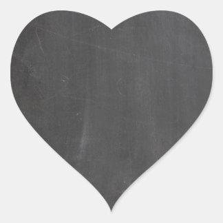 Chalkboard Heart Sticker