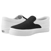 Chalkboard Stripe Slip-On Sneakers