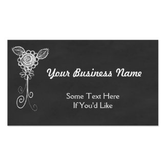 Chalkboard Style All Purpose Business Card
