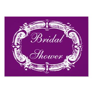 "Chalkboard Style Bridal Shower Invitation 5"" X 7"" Invitation Card"
