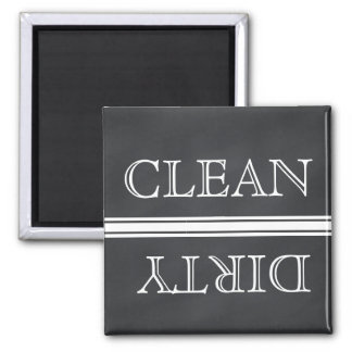 Chalkboard Style Dishwasher Magnet Clean & Dirty