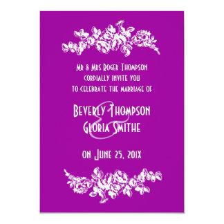 "Chalkboard Style WEDDING Invitation 5"" X 7"" Invitation Card"