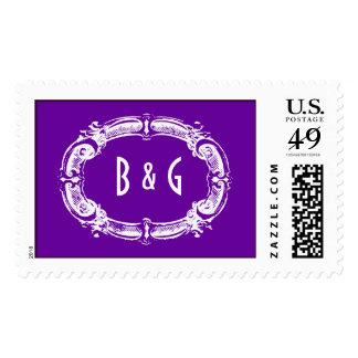 Chalkboard Style WEDDING Postage Stamps