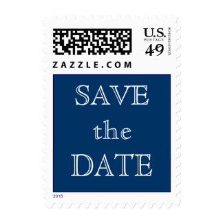 Chalkboard Style WEDDING Save The Date Stamp